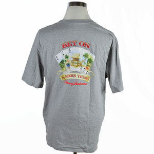 Tommy Bahama Mens crew neck tee in grey size XL